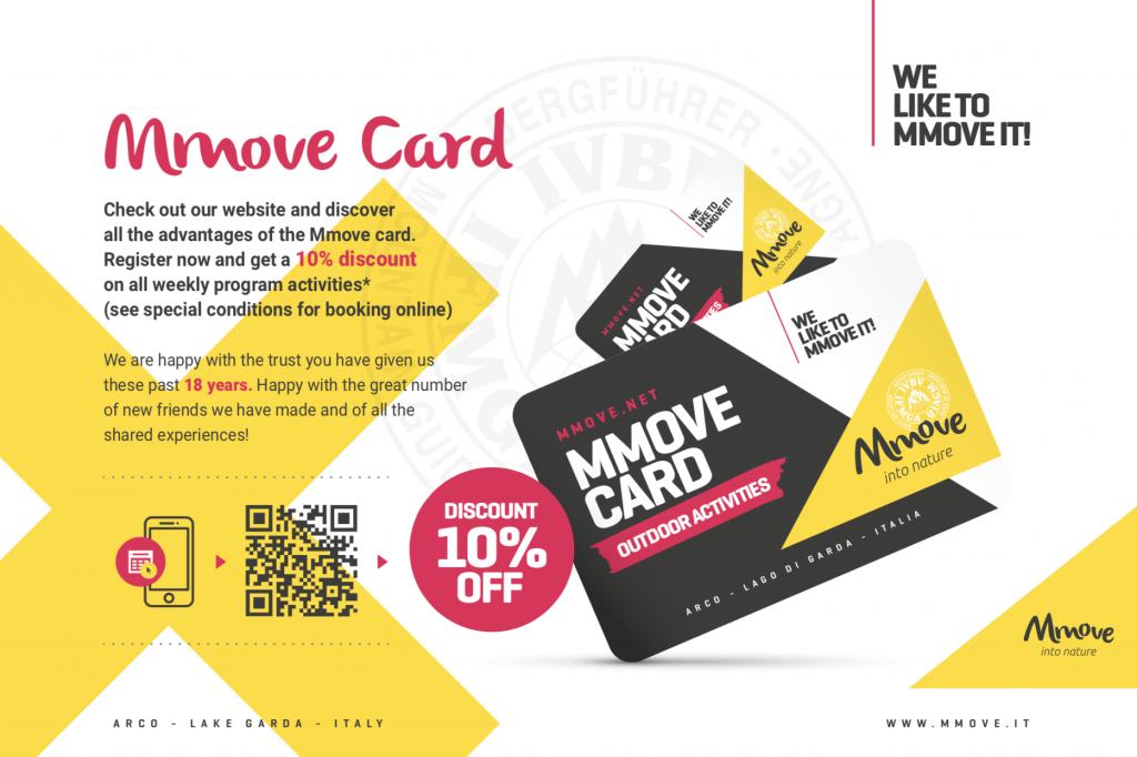 mmove card con qrcode